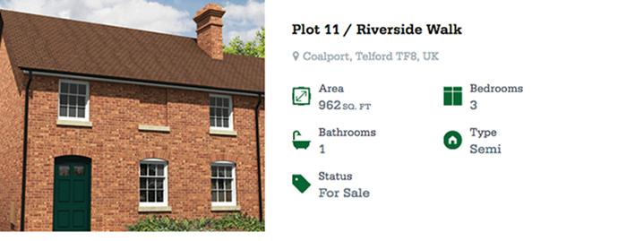 Riverside Walk Plot 11 - released